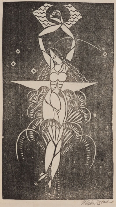William Zorach, 'Swimmer', ca. 1916