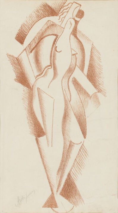 Alexander Archipenko, 'FRAUENAKT (KARSHAN 27)', 1921