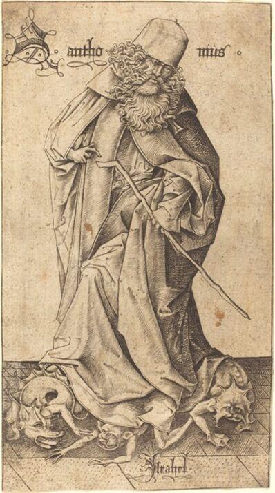 Israhel van Meckenem, 'Saint Anthony'