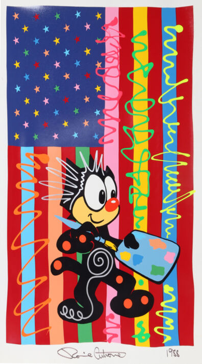 Ronnie Cutrone, 'American Artist', 1988