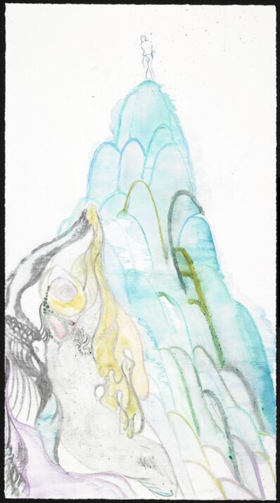 Chris Ofili, 'Voyeur, Crocale's Embrace 2', 2010
