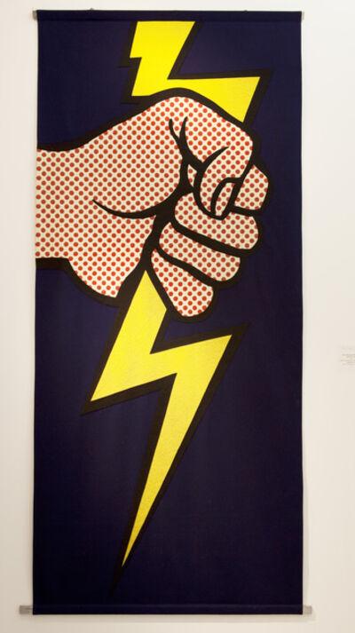 Roy Lichtenstein, 'Lighting bolt banner', 1966