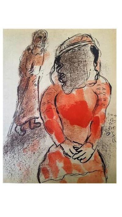 "Marc Chagall, 'Original Lithograph ""Tamar"" by Marc Chagall', 1960"