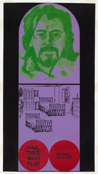 R. B. Kitaj, 'Hail thee who play (Michael McClure)', 1969