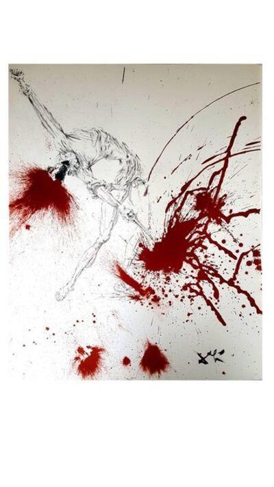 "Salvador Dalí, 'Original Lithograph ""Don Quixote III"" by Salvador Dali', 1957"