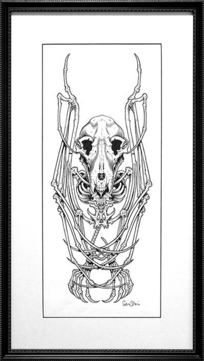 Sean Cliver, 'Just A Bat Skeleton Of Sorts, I Guess', 2005