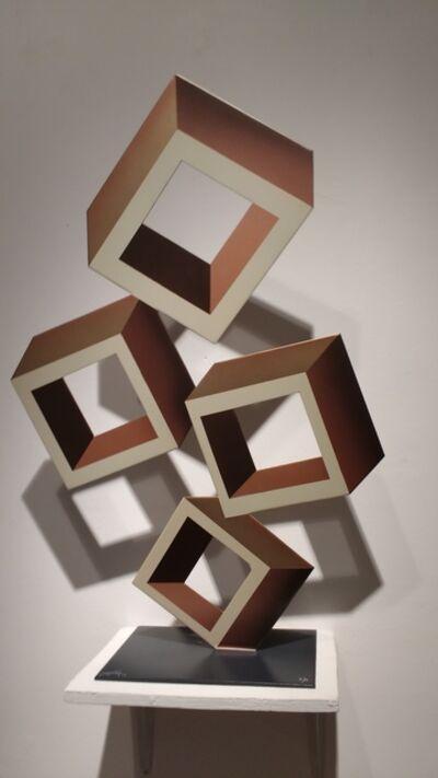 Daniel Sanseviero, 'Brown sculpture'