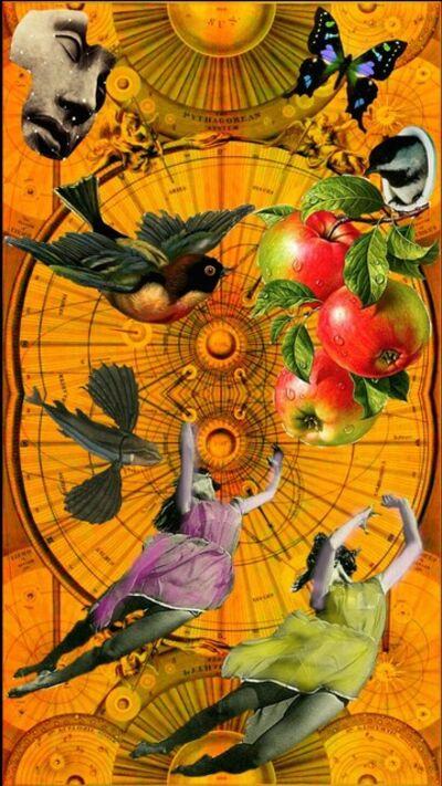 Robert Fleischman, 'Apples in Fall'