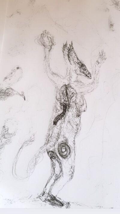 ANURADHA DELACOUR, 'une esprit 2', 2020