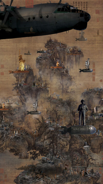 Lee Nam Lee, 'Early Spring Drawing-The Battle of Civilization', 2010