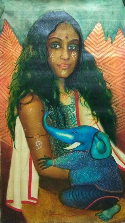 Anjolie Ela Menon, 'Parvati I', 2015