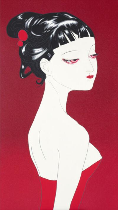 Amano Yoshitaka, 'Lady Red', 2019