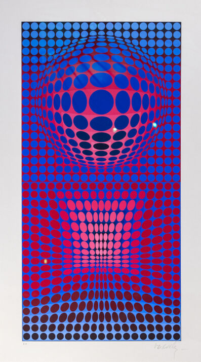 Victor Vasarely, 'VY 28 G VP-RB', 1972