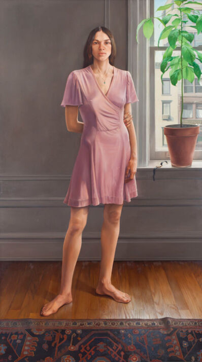 William Beckman, 'Portrait of Diana II (Pink Dress)', 1973