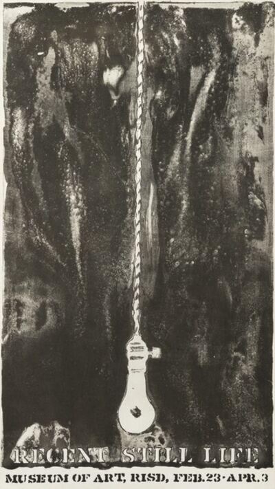Jasper Johns, 'Recent Still Life', ca. 1966