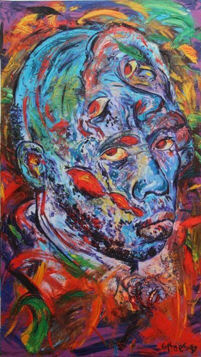 George Gittoes, 'Emacule in Kassel - Eye Witness Series', 1995