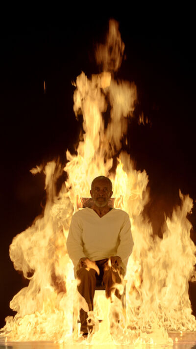 Bill Viola, 'Fire Martyr', 2014