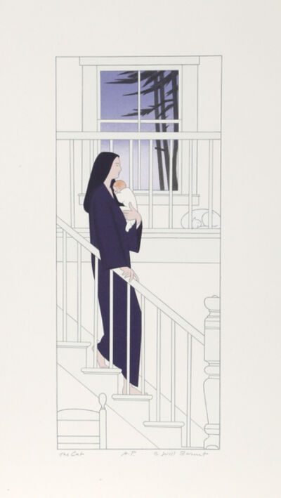 Will Barnet, 'The Cat', 1997