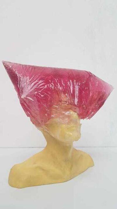 Michal Cimala, 'Plastic Bag Hat', 2015