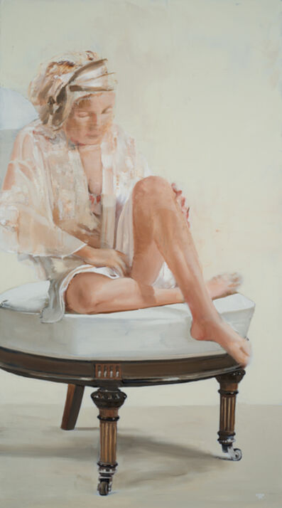 Patrick Pietropoli, 'Sitting on the white chair', 2020