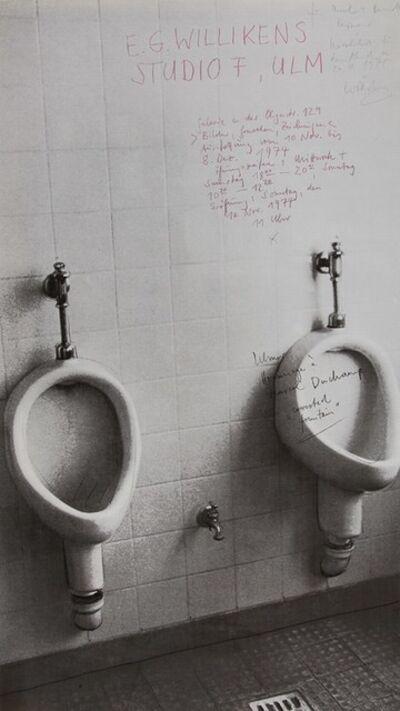 Ben Willikens, 'Hommage à Marcel Duchamp', 1975