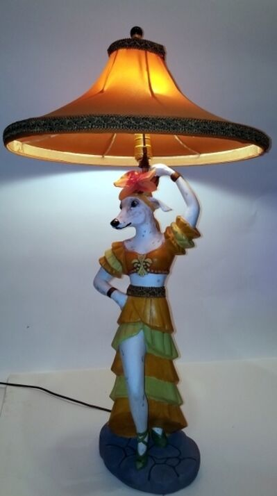 Suzanne Codi, 'Whippet Lamp Her'