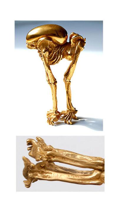 """H. R. Giger, '""""Bambi Alien""""', 2009"""