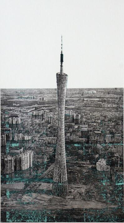 Hisaharu Motoda, 'Canton Tower', 2017