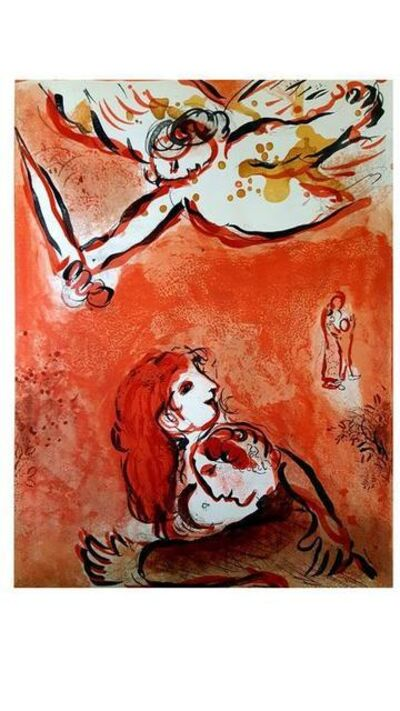 "Marc Chagall, 'Original Lithograph ""The Maid of Israel"" by Marc Chagall', 1960"
