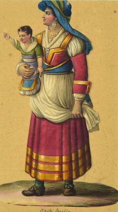 Michela De Vito, 'Costume di Civita Vecchia', Mid-19th Century