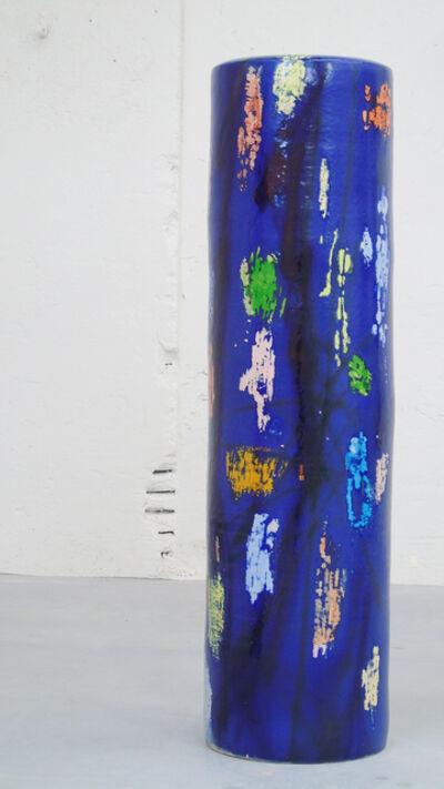 Stefanie Brehm, 'column royal blue', 2018