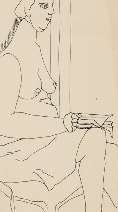 Louise Nevelson, 'Female Nude', 1932