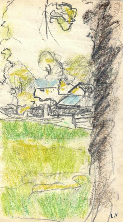 Édouard Vuillard, 'Les Communs au château des Clayes', ca. 1932-38