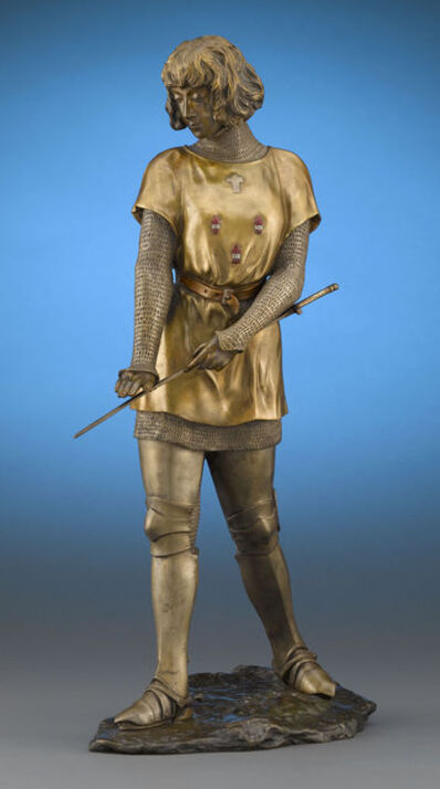 Claire-Jeanne-Roberte Colinet, 'Joan of Arc', Early 20th century