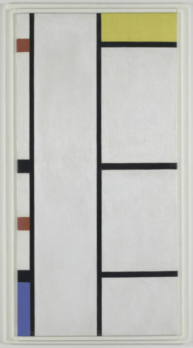 Piet Mondrian, 'Composition (no. III) blanc-jaune / Composition with Red, Yellow, and Blue', 1935/1942