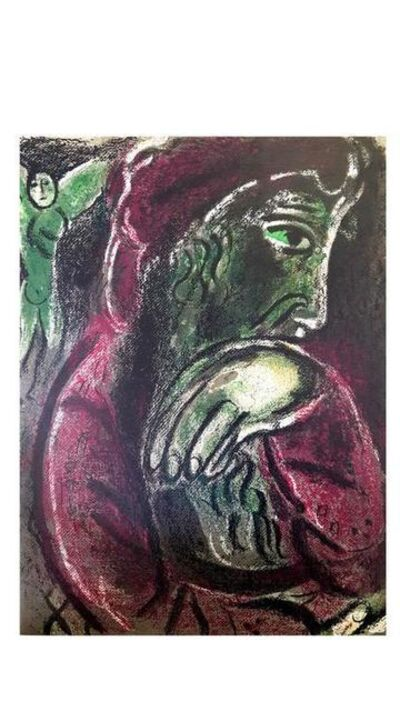 "Marc Chagall, 'Original Lithograph ""Job"" by Marc Chagall', 1960"