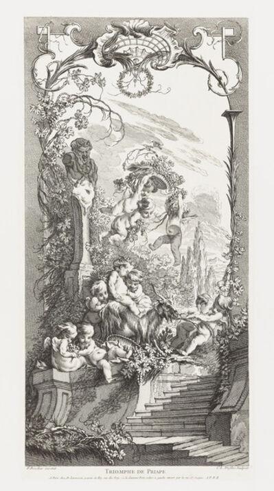 François Boucher, 'Triomphe de Priape (Triumph of Priapus) in Nouveaux Morceaux pour des Paravents', ca. 1737