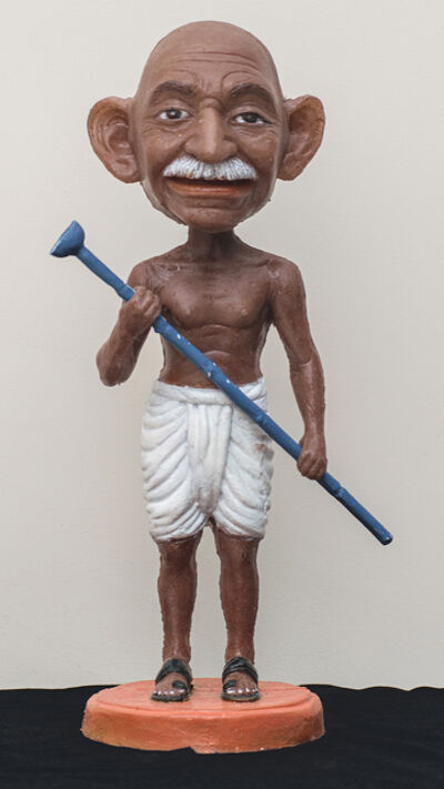 Debanjan Roy, 'Toy Gandhi 7 (Small Bobble Head 2)', 2019