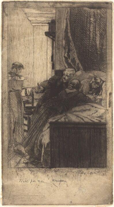 Albert Besnard, 'Sickness (La Maladie)', 1884