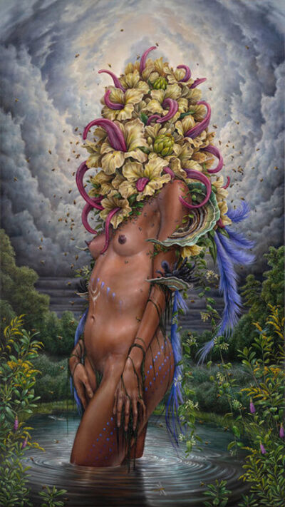 Hannah Yata, 'Decay and Her Lustful Tongue', 2018