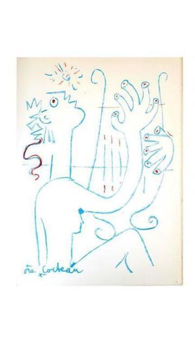 """Jean Cocteau, 'Original Lithograph """"Musician"""" by Jean Cocteau', 1961"""