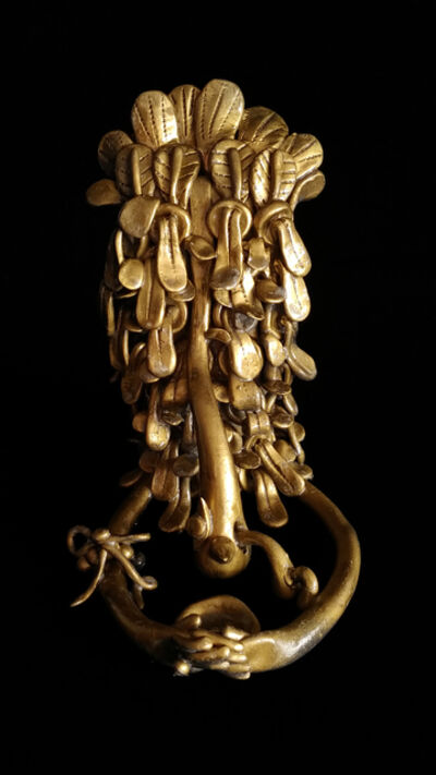 """Fi Lee, '<The Encyclopedia of Phanerozoic Eon. Cenozoic era, Leeficene> 00009 Heterokonta, Phaeophyceae, Laminariales, Alariaceae, Undaria """"Seaweedwhosearmsstretchlikeatampemeasureandwhosebonesarewet""""', 2018"""