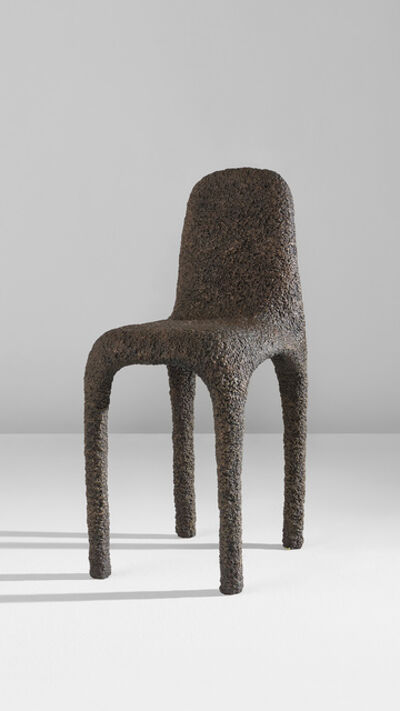 "Max Lamb, '""Bronze Poly Chair""', designed 2006"