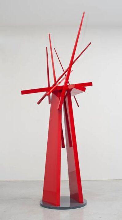 John Henry, 'Red Sonata', 2010