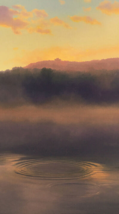 Scott Prior, 'View of Mount Holyoke from the Oxbow', 2017