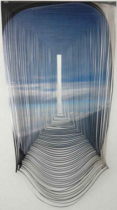 Golnar Adili, 'Airplane Window-Droop', 2011