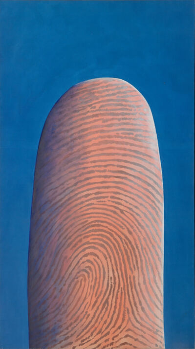 Robert Arneson, 'Portrait of the Artist Testing the Wind', 1968