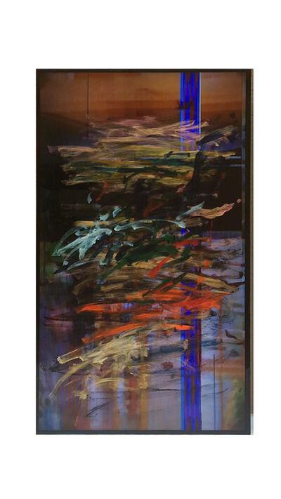 Ken Okiishi, 'gesture/data, feedback (fundació gaspar / arbeiterkammer 4 [voided], frieze london [base footage]', 2015