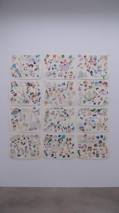 Eunjung Hwang, 'Drawings series for Spirit Rappings', 2020