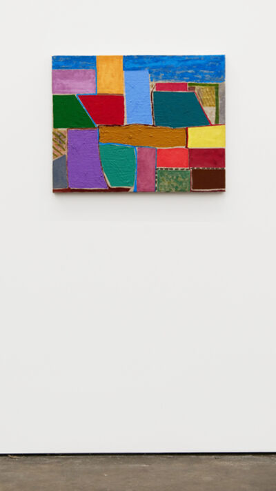 Chris Johanson, 'Backwards Painting', 2018